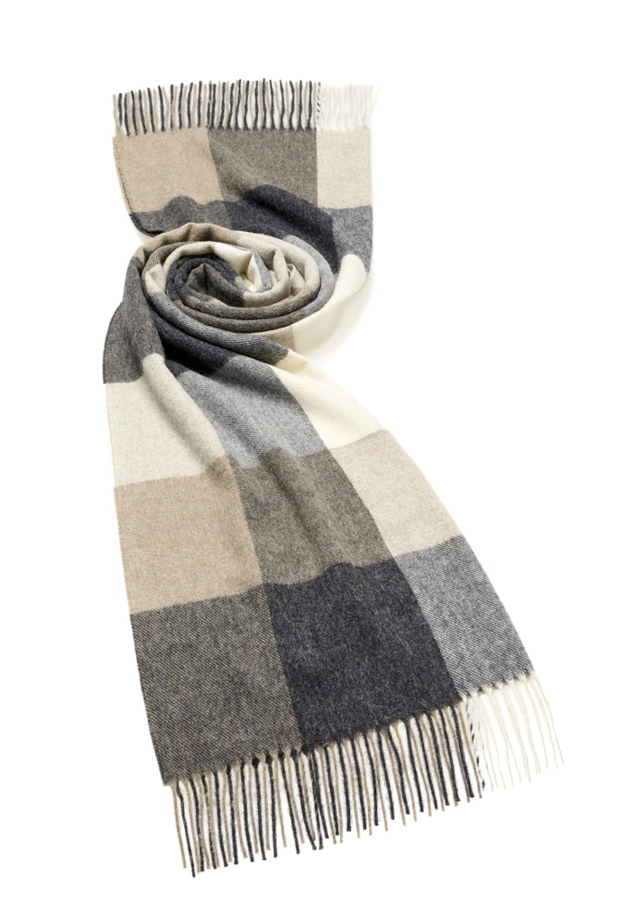 Wrap - Stole - Shawl - Sledmere - Neutral