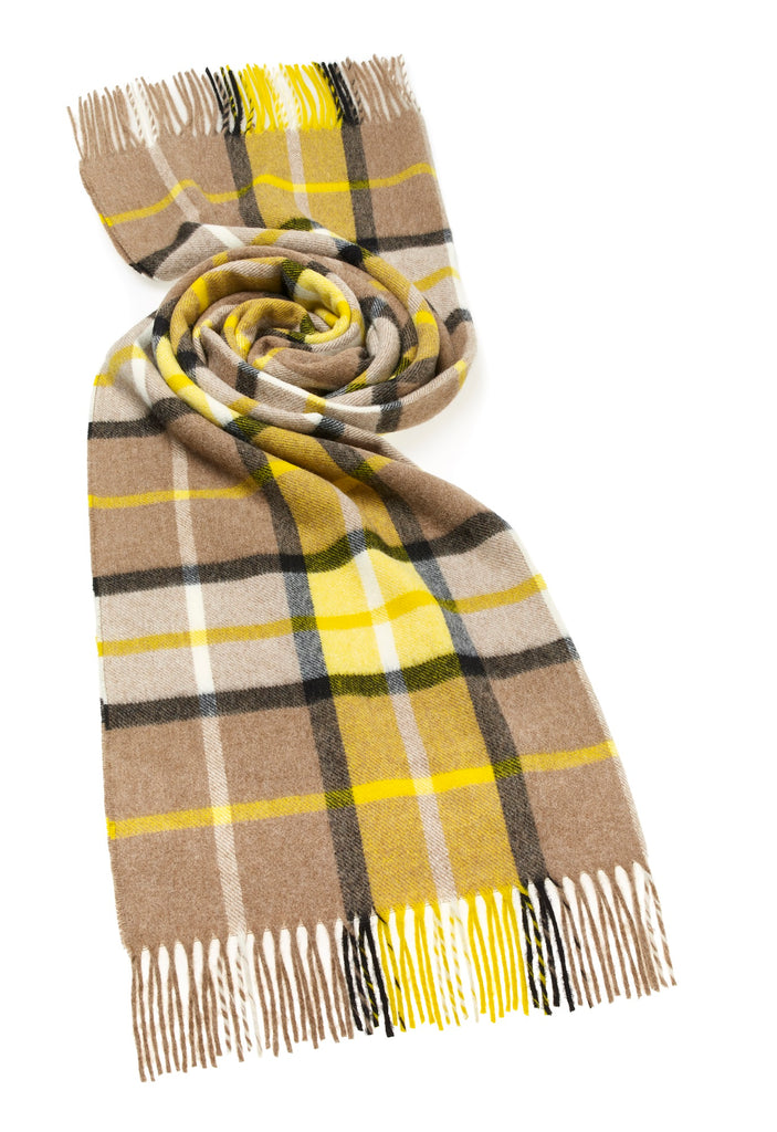 Wrap - Stole - Shawl - Yellow/White/Neutral