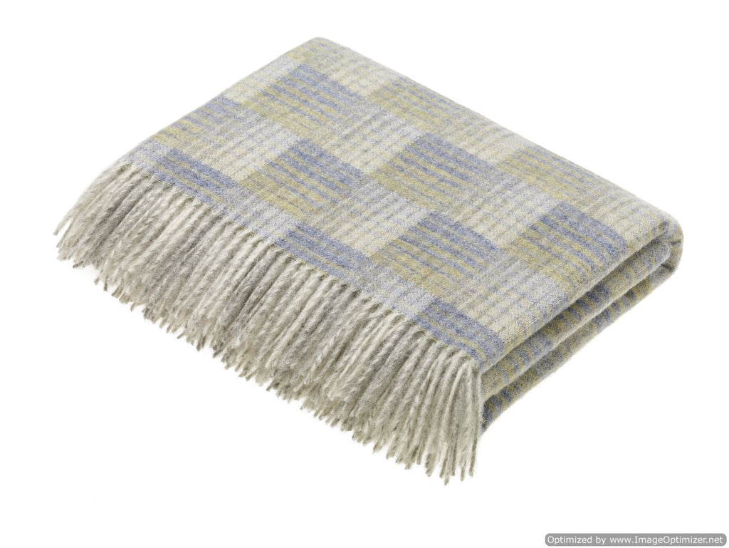 Transitional Oynx Throw - Castle - Shetland Quality Wool Pure New Wool - Made in England