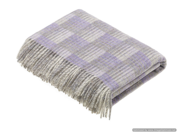 Transitional Marble Throw - Castle - Shetland Quality Wool - Made in England