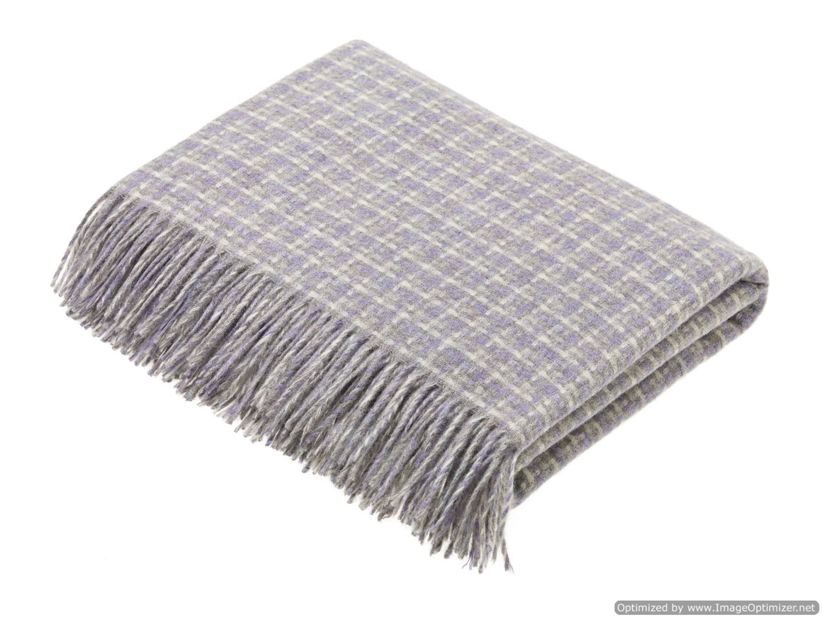 Transitional Marble Throw - Villa - Shetland Quality Wool - Made in England