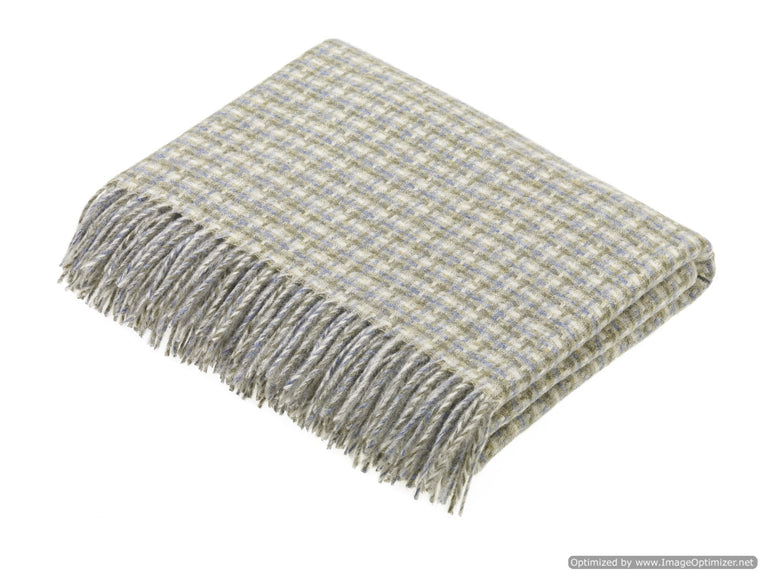 Transitional Oynx Throw - Villa - Shetland Quality Wool Pure New Wool - Made in England