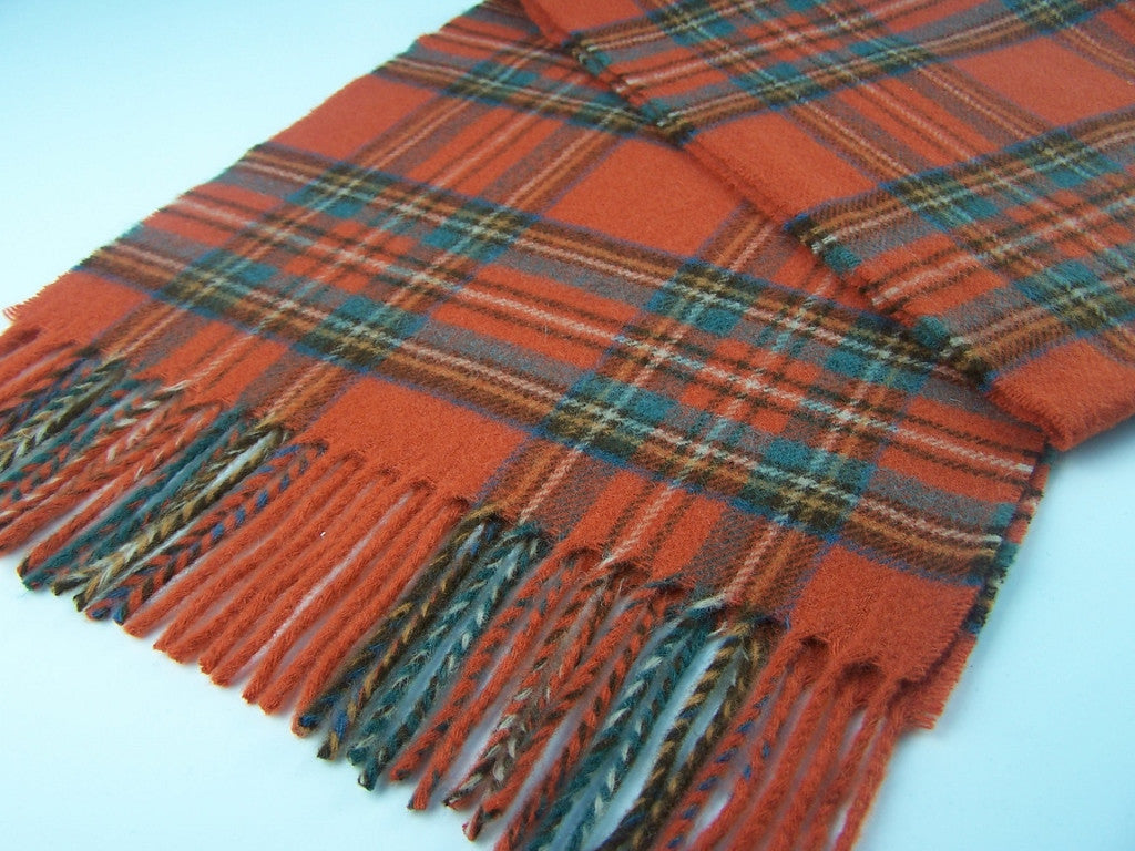Antique Royal Stewart Tartan Scarf