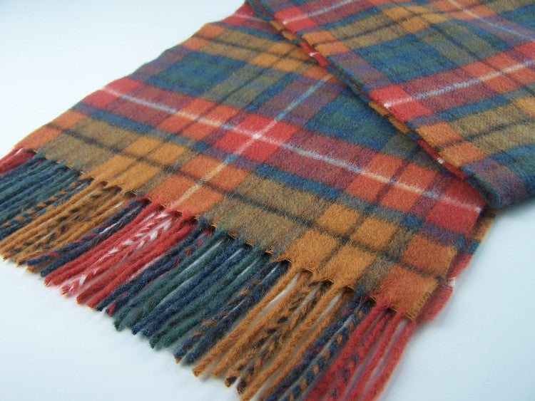 Antique Buchanan Tartan Scarf