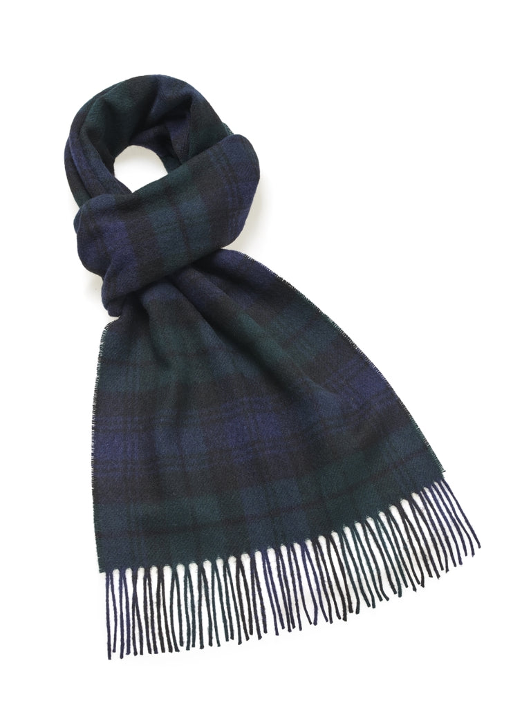 "Tartan Wide 12"" Black Watch Scarf"