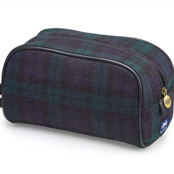 Wash Bag - Black Watch Tartan - Bronte by Moon
