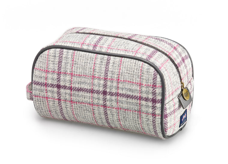 Wash Bag - Grey Glen - Bronte by Moon