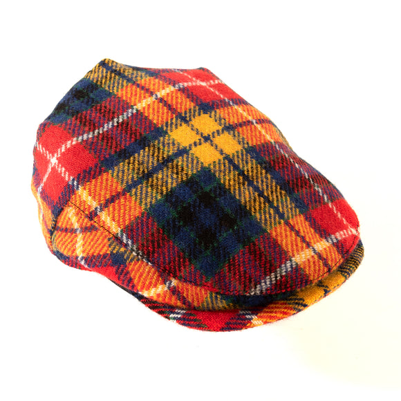 Harris Tweed - Flat Cap - Saffron - Bronte Moon