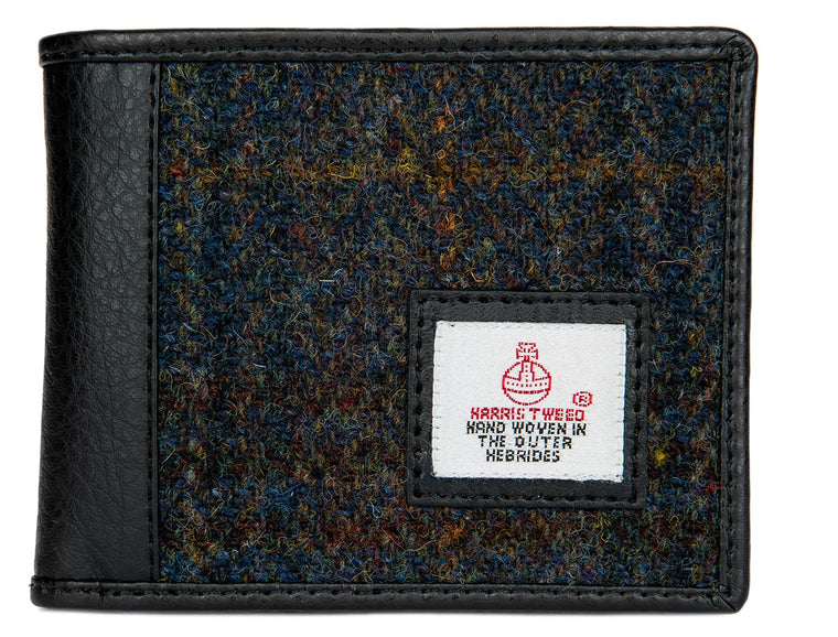 Harris Tweed - Bi-fold Wallet - Dark Sage - Unisex