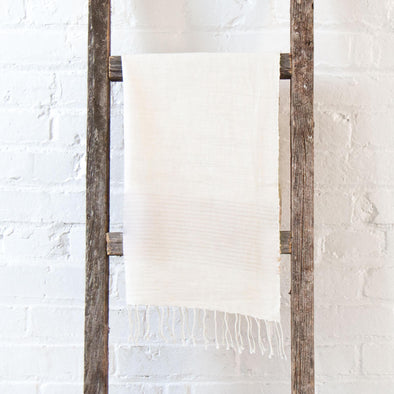 Ethiopian Cotton Hand Towel, Cream