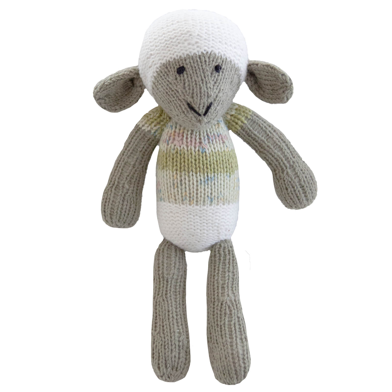 Knitted Lamb Heirloom Toy - Hwai
