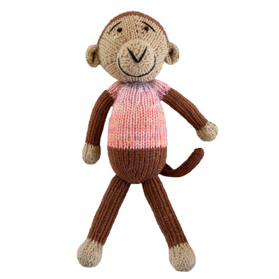 Knitted Monkey Heirloom Toy - Shoko