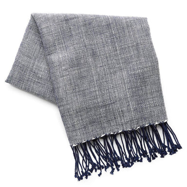 Ethiopian Cotton Hand Towel, Navy