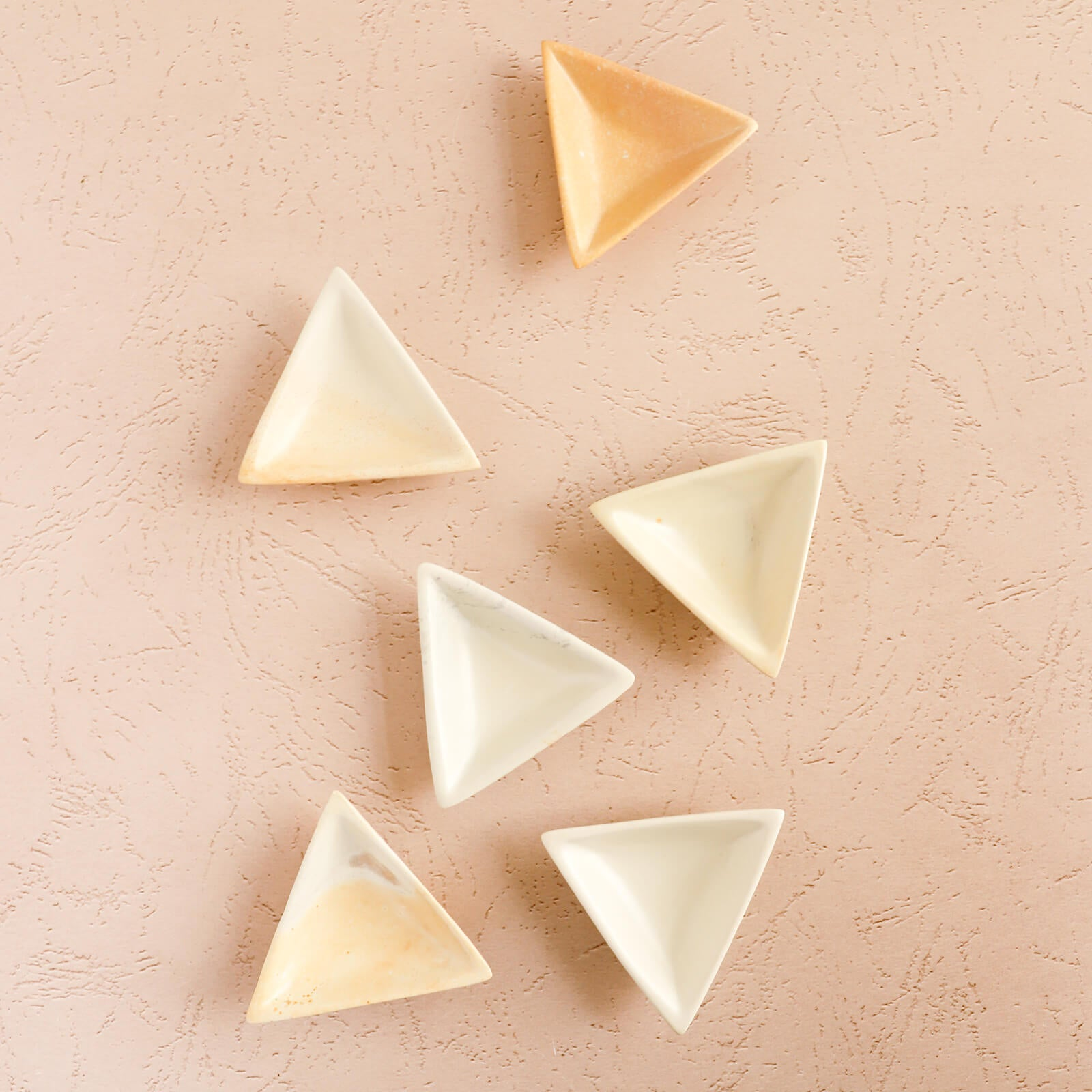 Extra Small Soapstone Triangle Dish
