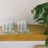 Moroccan Glass Wine Tumblers - Set of 6