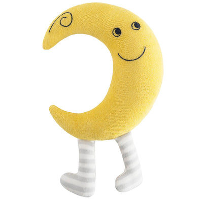 Organic Cotton Baby Toy - Crissy the Crescent Moon