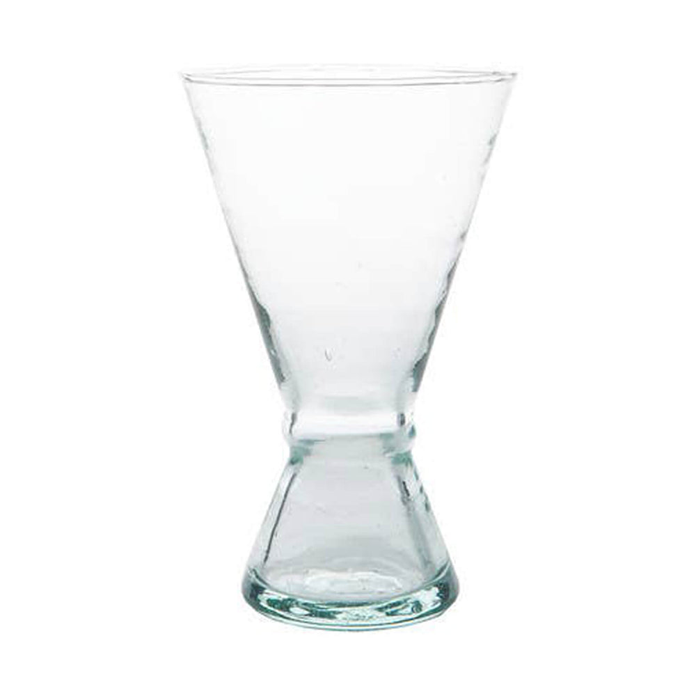 Verre Beldi Moroccan Blown Glass Wine Goblets, Large