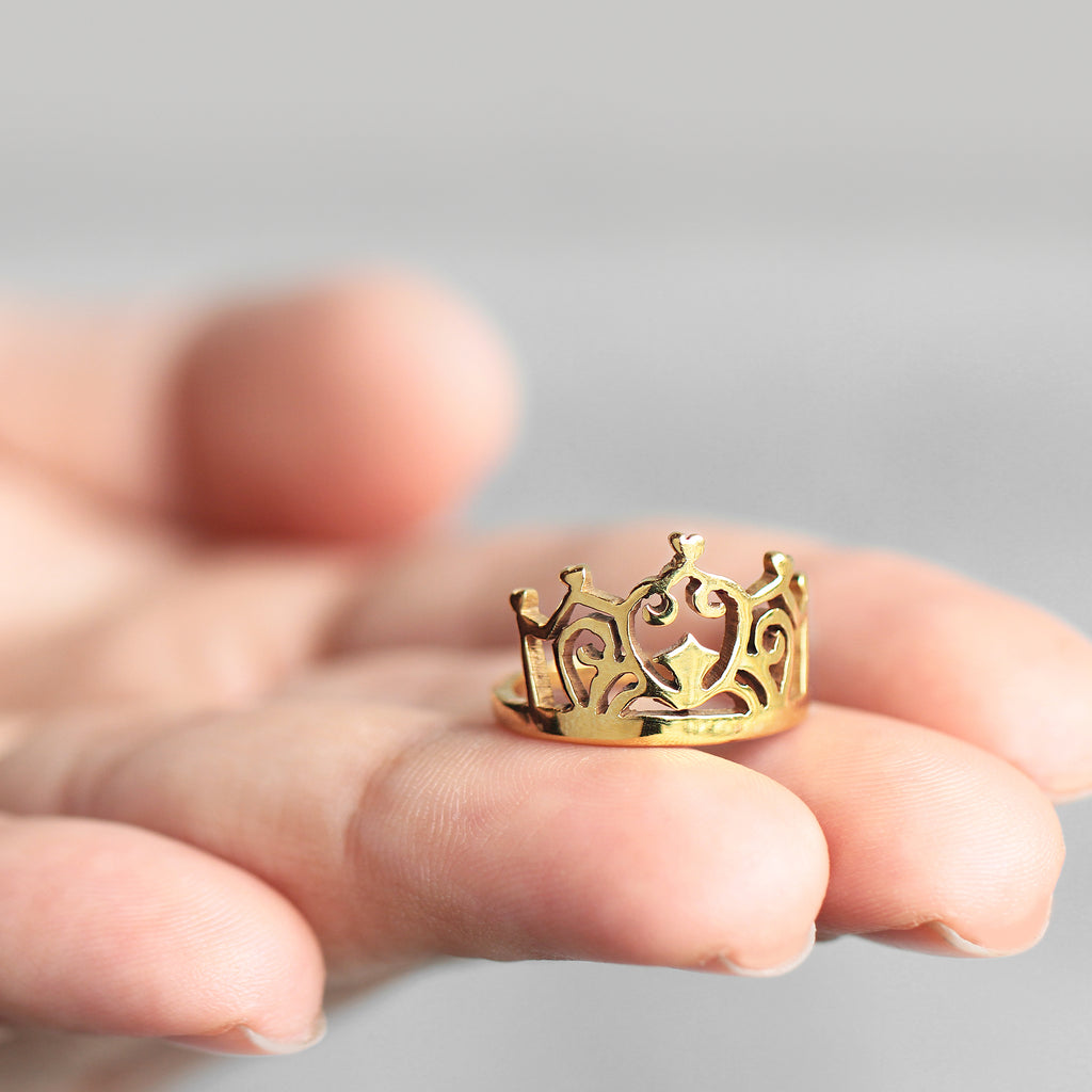 Anillo Queen Crown