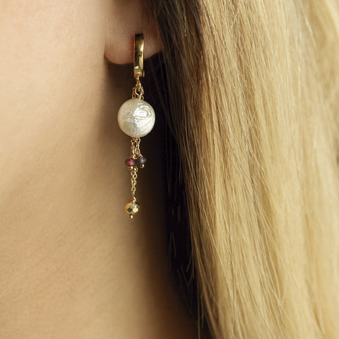 Aretes candy pearl