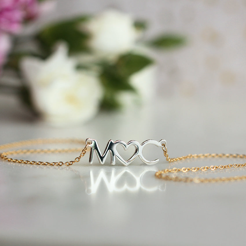 Collar Love initials