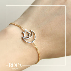 Brazalete Moon & Star