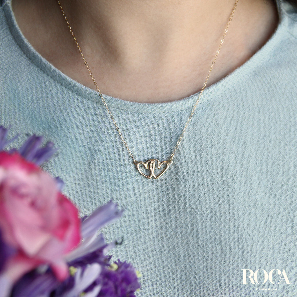 Collar Double Heart