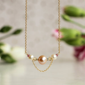 Collar Adelfa Rose