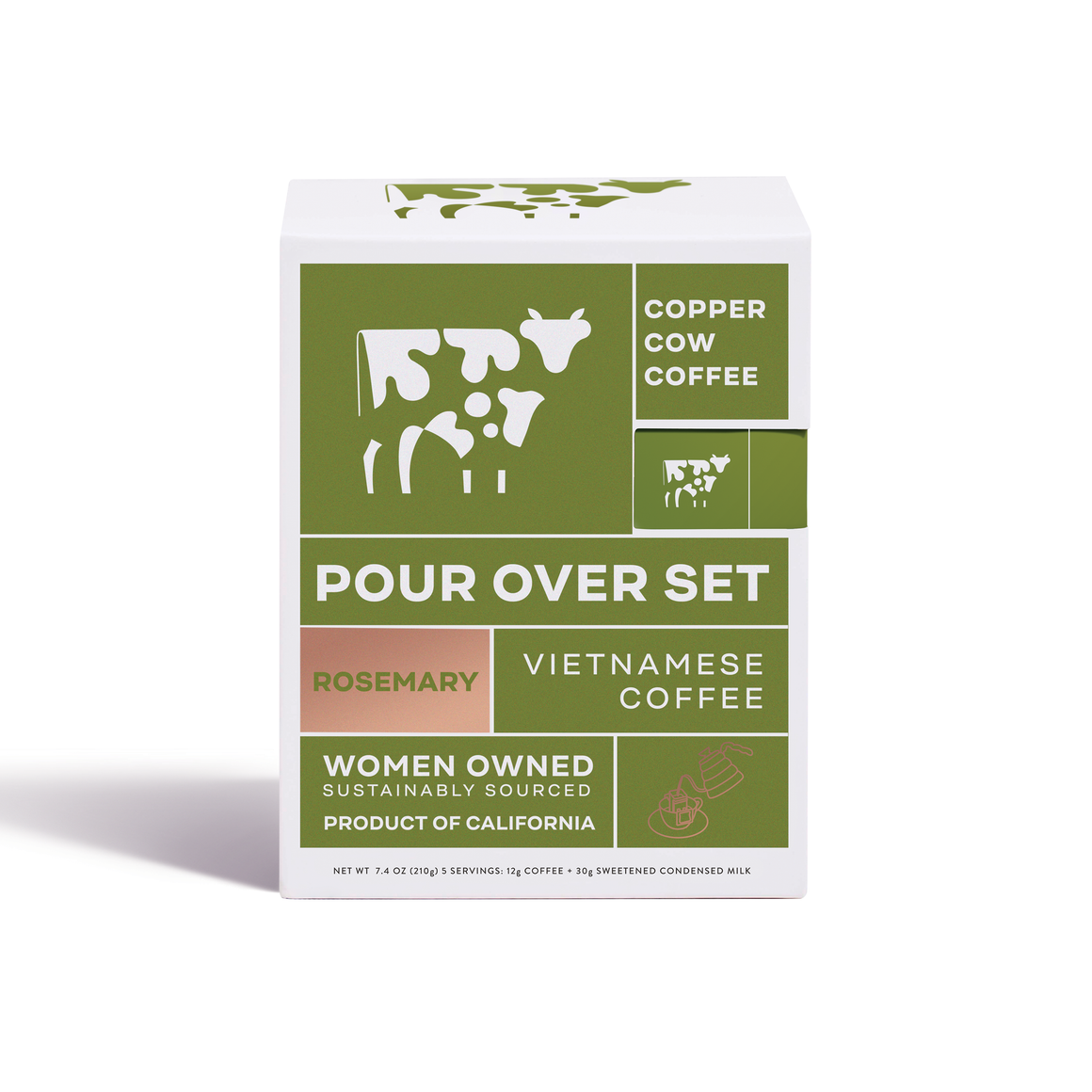 Copper Cow Coffee - Rosemary Latte | 5-Pack