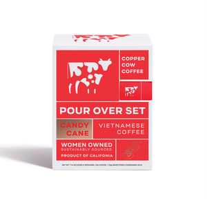 Copper Cow Coffee - Peppermint Candy Cane Latte | 5-Pack