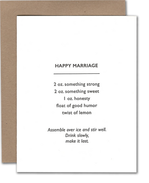 Happy Marriage Card