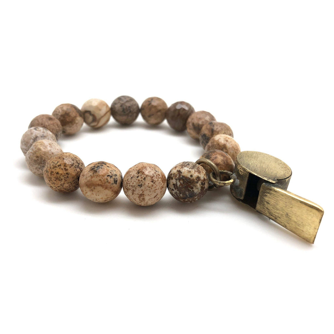Vintage Toy Whistle Jasper Bracelet (CORE - JASSIE)