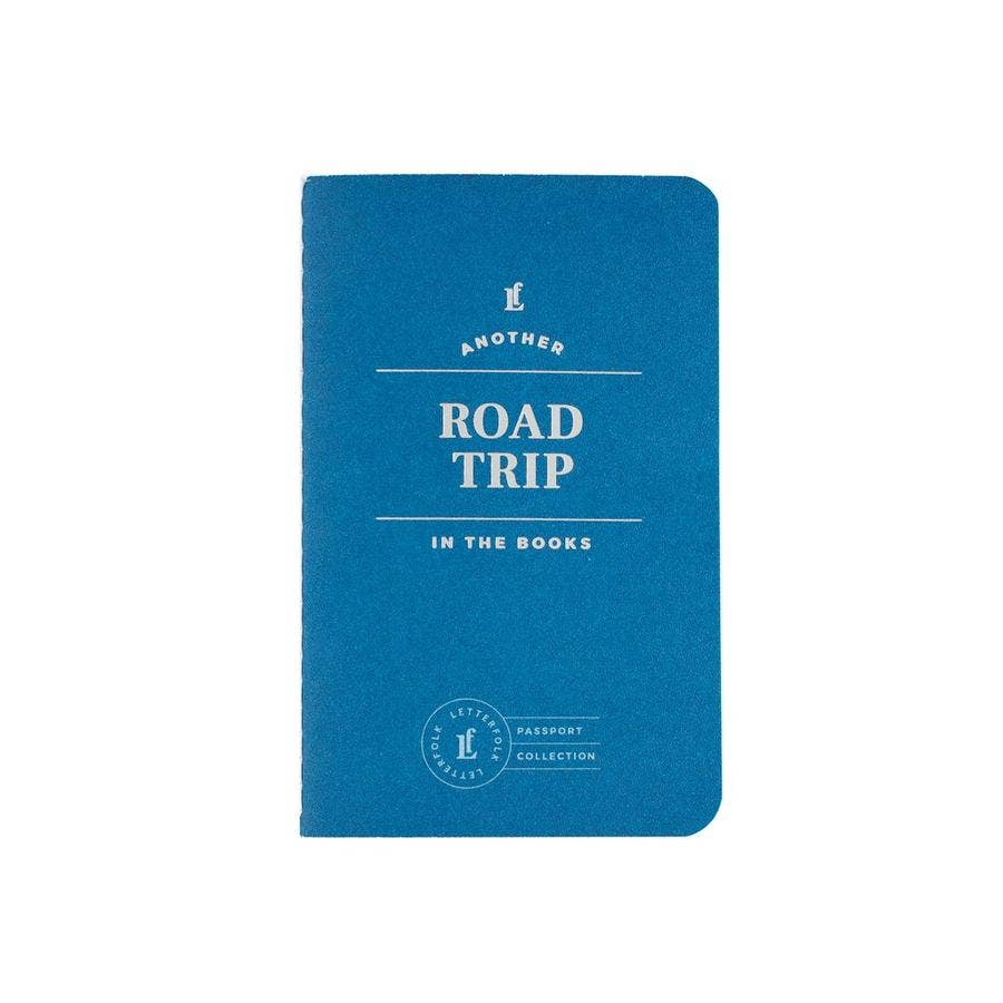 Letterfolk Road Trip Passport Journal