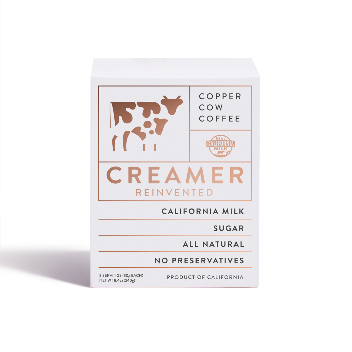 Copper Cow Coffee - Creamer I 8-Pack