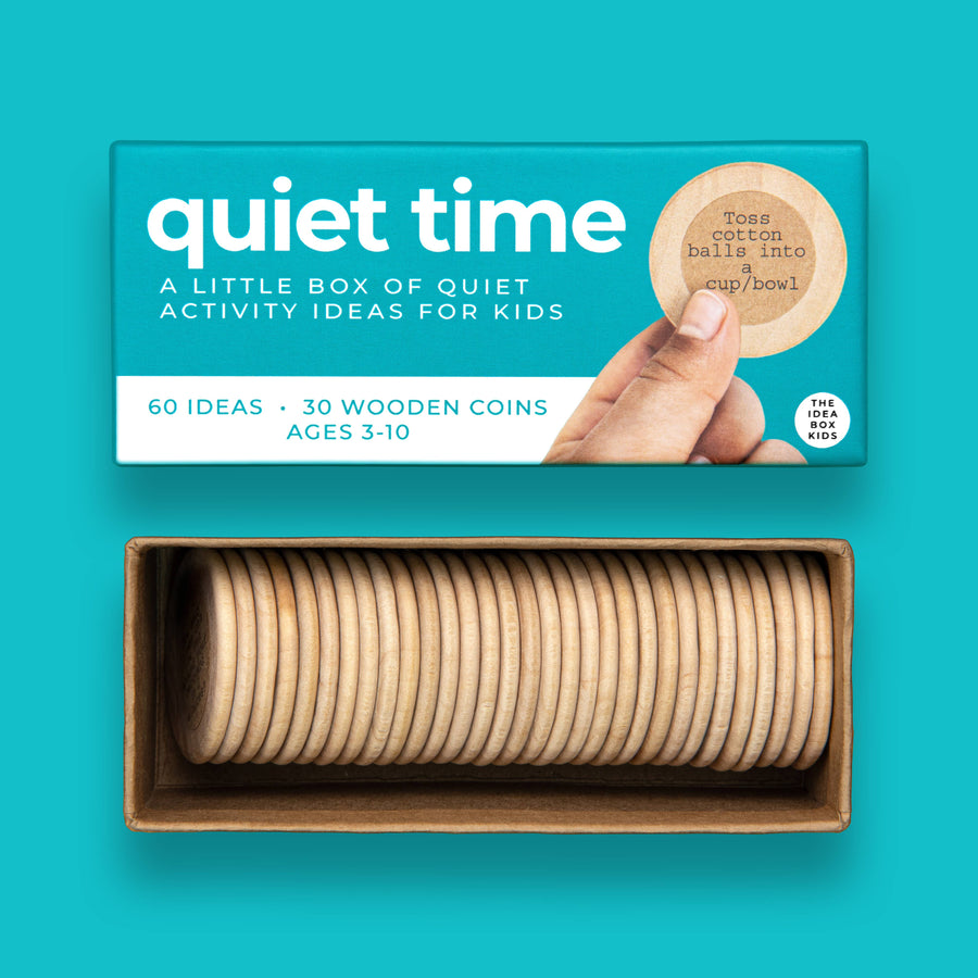 Quiet Time - Quiet Indoor Activities for Kids