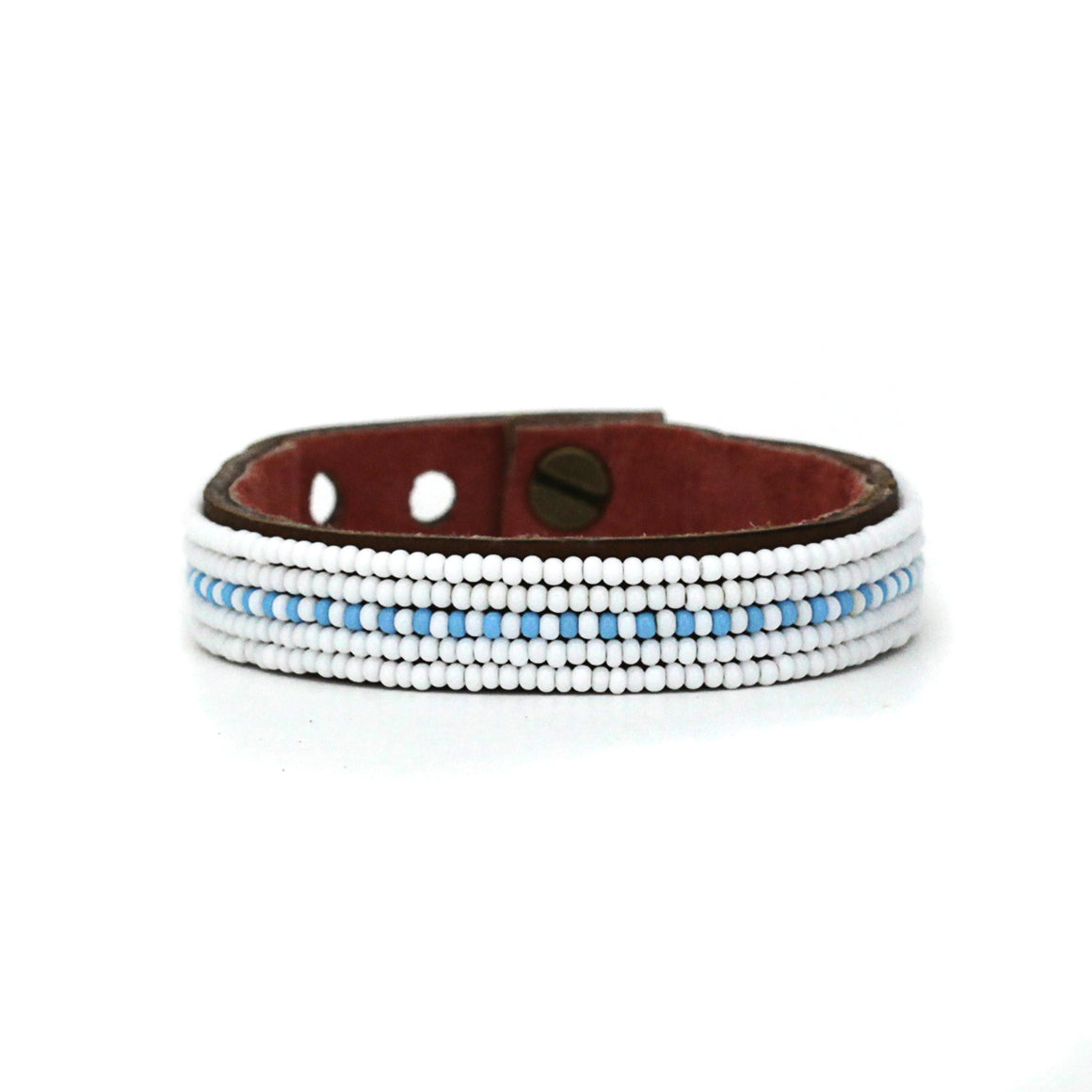 Light Blue Dashes Cuff