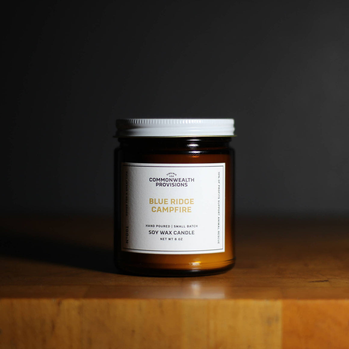 Commonwealth Provisions Soy Candle - Blue Ridge Campfire