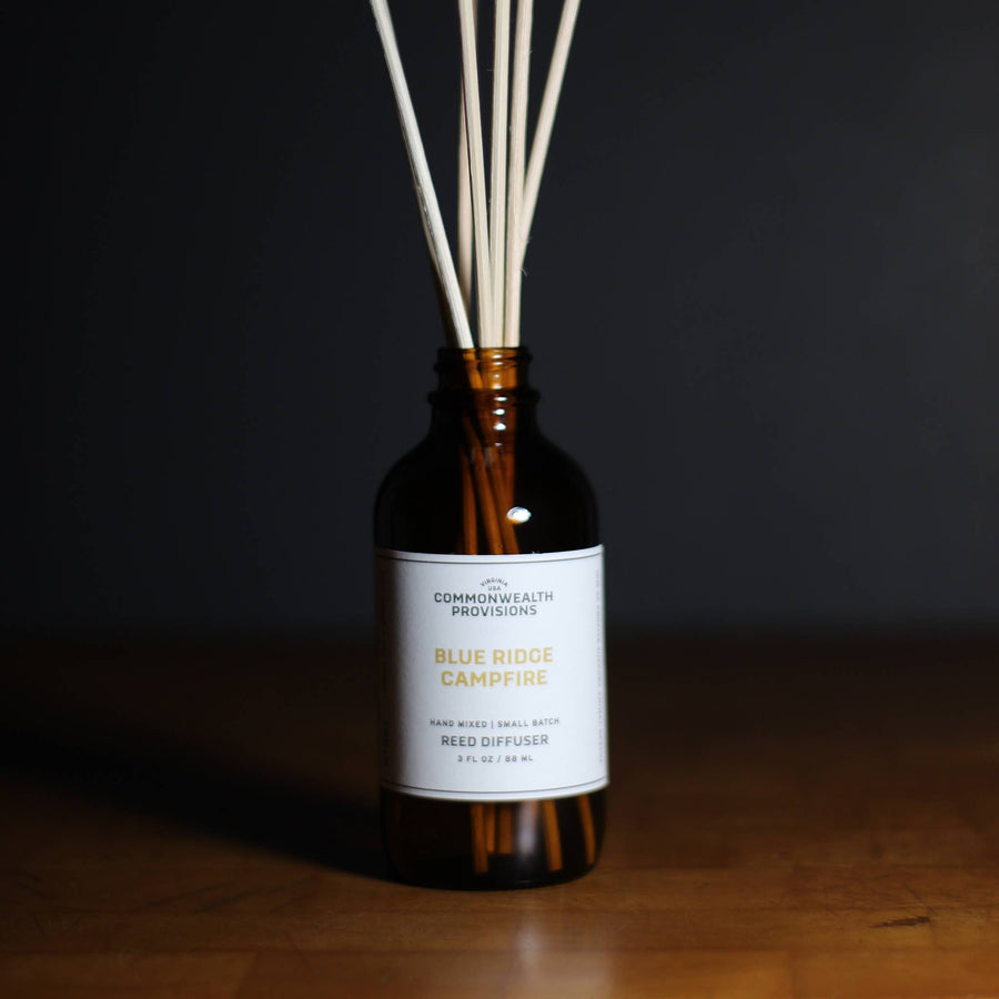 Commonwealth Provisions Reed Diffuser - Blue Ridge Campfire