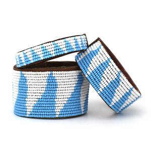 Tri Light Blue Cuff