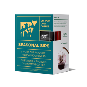 Copper Cow Coffee - Seasonal Sips Latte | 5 Pack