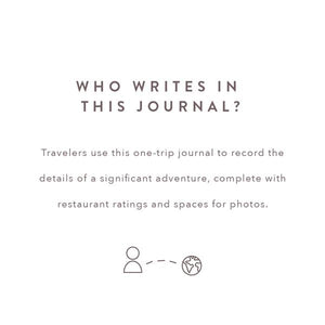 A Complete Travel Journal - Prompted Journal