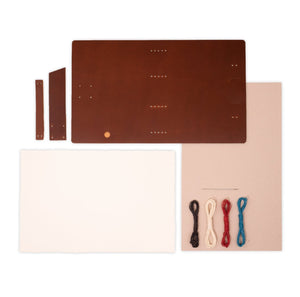 "Rustico ""DIY"" Good Book Leather Journal Kit"