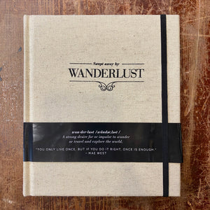"Axel & Ash ""Swept Away by Wanderlust"" Journal"