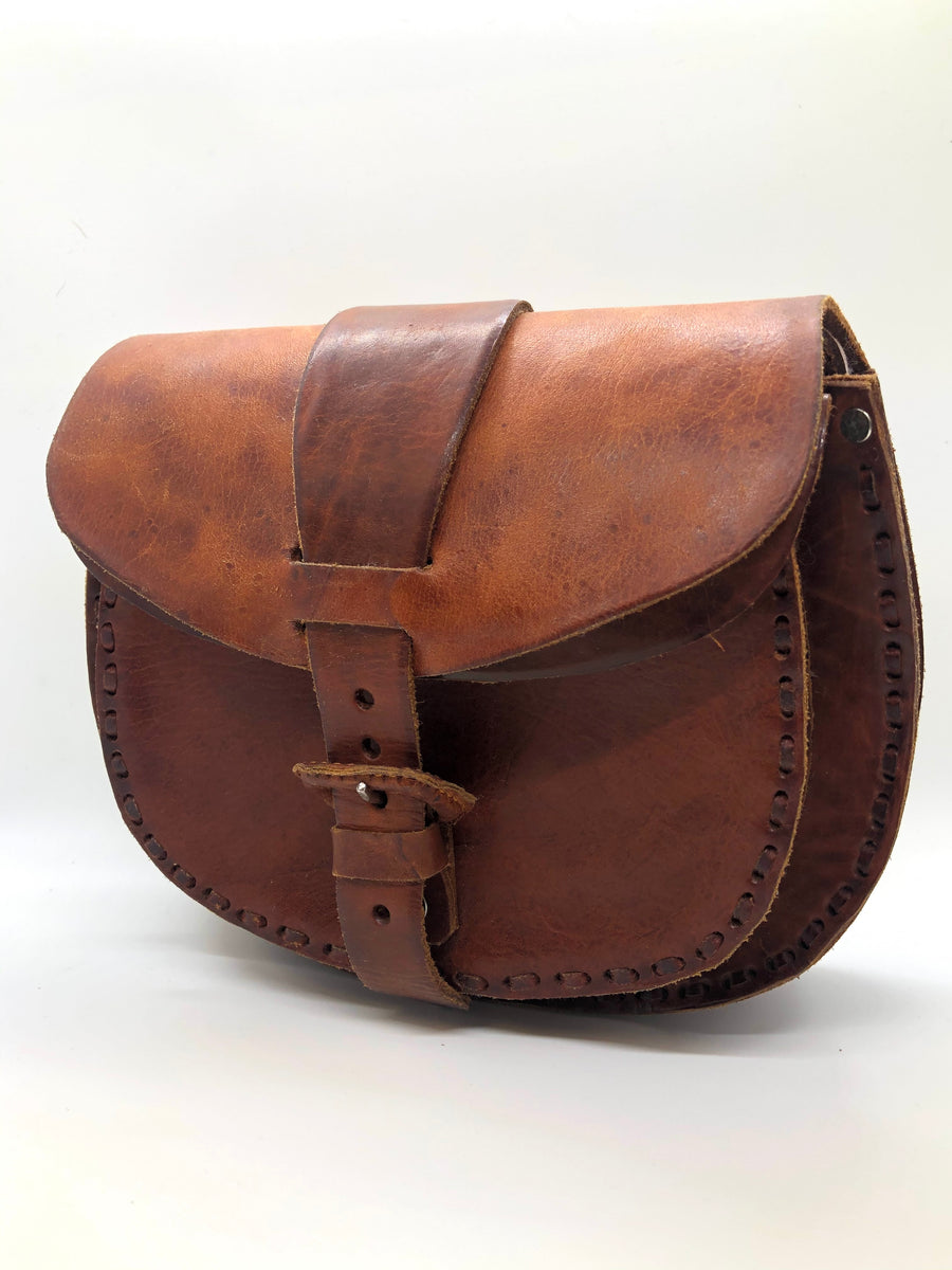 Leather Guatemalan Purse