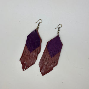 Four Layer Fringe Earring