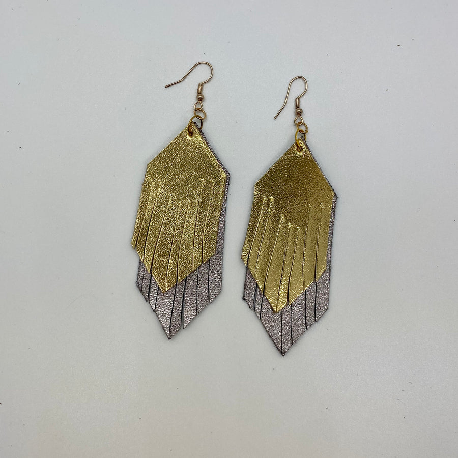 Long Two Layer Earring