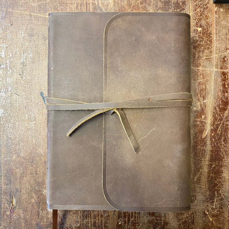 Leather Interleaved ESV Bible