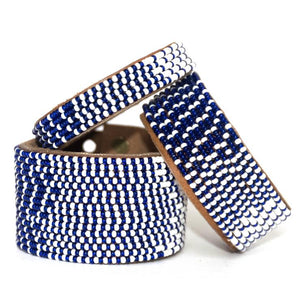 Ombre Dark Blue & White Cuff