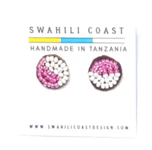 Swahili Beaded Studs - Multi