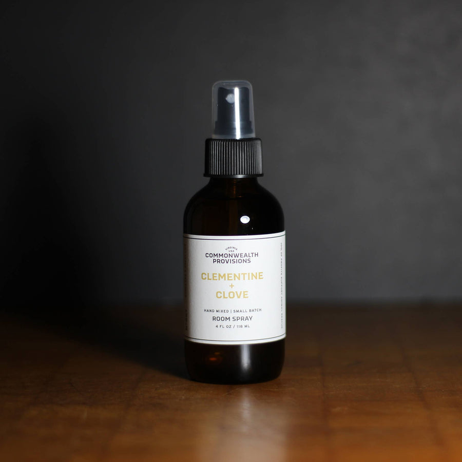 Commonwealth Provisions Room Spray - Clementine + Clove