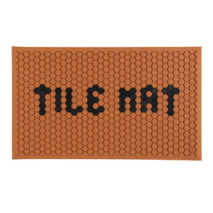 Letterfolk Tile Mat - Clay